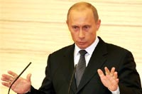 Путин заявляет о желании привлекать в российские вузы студентов