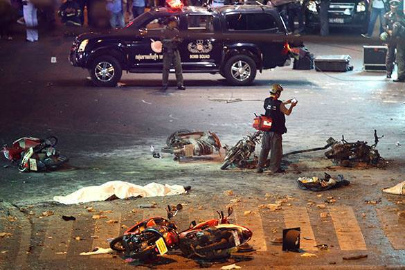 Взрывы на курортах Таиланда
