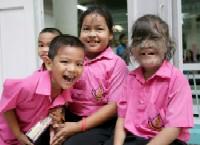 В Таиланде живёт девочка-оборотень (фото)