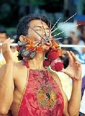 Страшное лицо таиландского вегетарианства