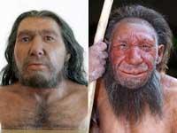 Как в действительности выглядел неандерталец? Фото из журнала