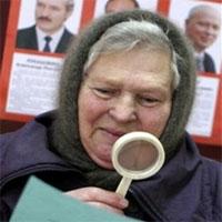 Выборы в Белоруссии: Мужчины не желают проигрывать