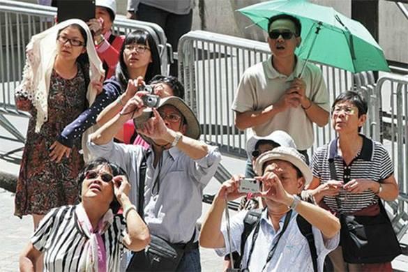 фотографии туристов: