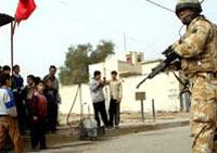 Великобритания уберёт из Ирака 1600 солдат
