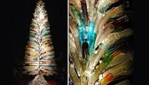 В Венеции создана 7-метровая елка из муранского стекла