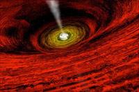 «Черную дыру» поймали с поличным
