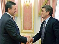Янукович: Ющенко разобрался в трёх прокурорах