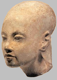 Скульптурный портрет принцессы Анхесенпаатон (Анхесенамон)