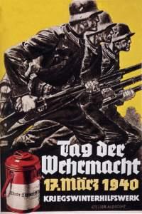 Плакат, приуроченый ко дню вермахта