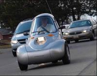 NmG – трехколесный электромобиль