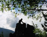 Тайванец провел на скале 9 дней и питался листьями