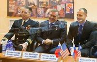 """Мисуркин Александр Александрович - бортинженер-1 ТПК  """"Союз ТМА-08М """" (космонавт Роскосмоса).  Основной экипаж."""
