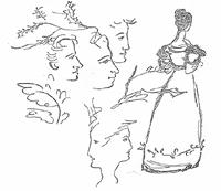 В имении Тригорское к услугам поэта был целый женский цветник