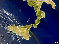 Огромный подводный вулкан обнаружен у побережья Сицилии