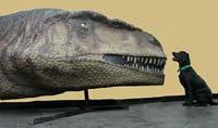 Хищный динозавр преподносит сюрприз