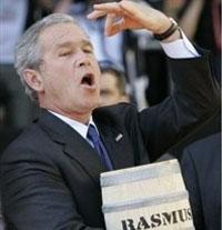 По дороге на саммит Буш рекламировал селедку