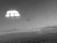 Над Москвой засекли НЛО (ФОТО)