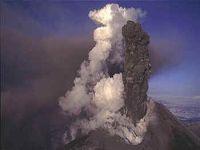 На Камчатке активизировался вулкан Безымянный