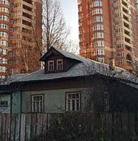 Дом переехал вместе с пенсионером