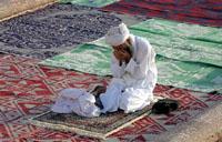 Мусульмане празднуют праздник Ураза-Байрам. Пост окончен