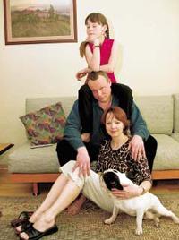 Жигунов с семьей