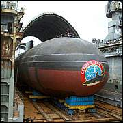 Самому большому подводному кораблю в мире исполнилась четверть
