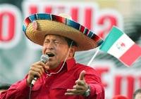 Чавес оставляет Колумбию и Перу