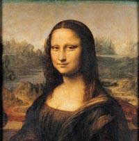 Мону Лизу заставил улыбаться ребёнок