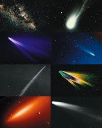 Астрономы обнаружили следы столкновений комет