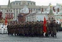 Красная площадь: марш ветеранов (фоторепортаж)