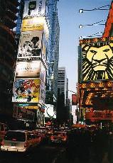 Новогодний шоу-туалет на Таймс-сквер