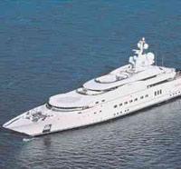 Круизное судно Pelorus Романа Абрамовича