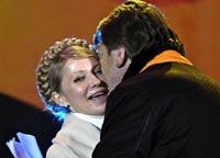 Сторонники Ющенко требуют взаимных
