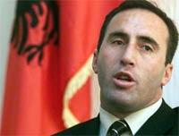 экс-премьер Косово Рамуш Харадинай