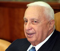 Шарон прибыл к президенту Израиля для прошения об отставке