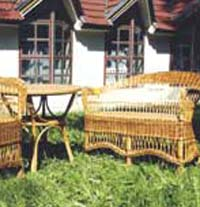 Скромное обаяние плетеной мебели