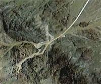 Окрестности Натанза, вид со спутника