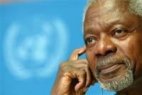 Кофи Аннан не скажет, сколько он зарабатывает