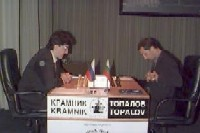 Крамник и Топалов сели за доску