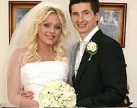 Юлия Началова с супругом