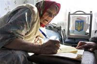 Официальные итоги выборов на Украине запрещено оглашать