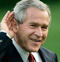 Самые нелепые высказывания Буша