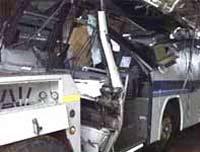 В Белоруссии при аварии автобуса погибли двое российских