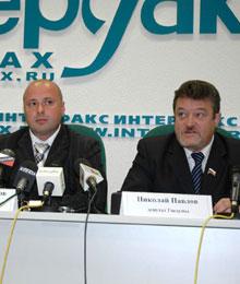 депутаты Николай Павлов, Михаил Маргелов