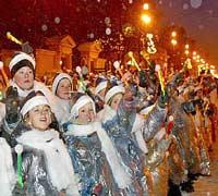 Гидрометцентр: Новогодняя ночь будет