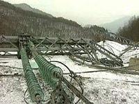 Опасность обрывов ЛЭП в районе Сочи сохранится до 3 февраля