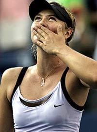 Шарапова попала в четвертьфинал на турнире в Токио