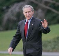 Рейтинг Буша катится по наклонной плоскости
