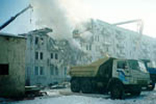 Взрыв в квартире на северо-западе Москвы