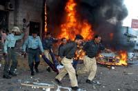 Карачи: гамбургер со взрывчаткой